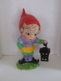 Hank The Dutch Garden Gnome by CarrieHomeMadeGifts on Etsy