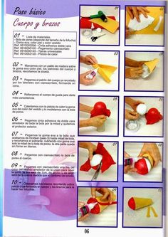 Revistas de Foamy gratis: hacer fofuchas paso a paso 6