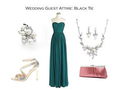 How to Dress for a Black Tie Wedding - from Mariell