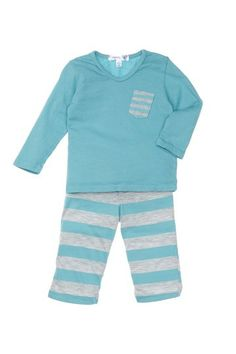 Joah Love Eric Striped Top and Pant Set (Baby Boys) by Non Specific on @HauteLook