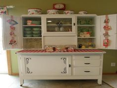 antique hoosier kitchen cabinet - Antique Kitchen Cabinets for ...