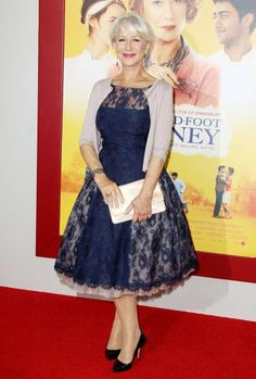 "Dame Helen Mirren is flawless as usual at the New York premiere of ""The Hundred-Foot Journey"""