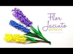 DIY : Flor de Jacinto en goma eva/foamy - YouTube