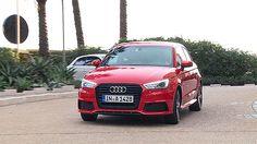 Der neue Audi A1 mit Facelift. Mit dem neuen Facelift verpasst Audi dem Kleinwagen A1 jetzt ein sportlich-elegantes und freches Design.