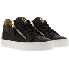 May London Sneakers (€365) ❤ liked on Polyvore featuring shoes, sneakers, golprnro, womenshoessneakers, giuseppe zanotti shoes, giuseppe zanotti trainers, giuseppe zanotti and giuseppe zanotti sneakers