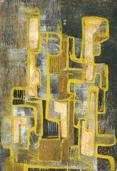 Hildegarde Haas | Canyon walls, night 1953
