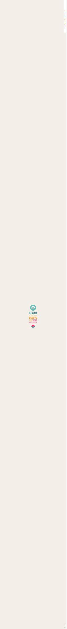 Soleil Noir 2012 | We believe in...