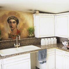 Küchen Küchenideen Küchengeräte Wohnideen Möbel Dekoration Decoration Living Idea Interiors home kitchen - Kleine eklektische Küche