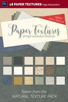 Texture Packs, Texture Design, Natural Texture, Paper Texture, Design Bundles, Photoshop, Templates, Easy, Stencils