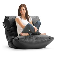 Have to have it. Big Joe Roma Bean Bag Chair - $64.98 @hayneedle