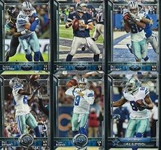 Amazon.com: Dallas Cowboys 2015 Topps NFL Football Complete Regular Issue 24 Card Team Set Including Tony Romo, Dez Bryant Plus: Collectibles & Fine Art
