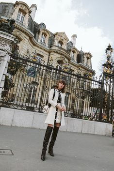 French Girl Style #fashion #paris