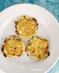 Placuszki z serka wiejskiego | AniaGotuje.pl Eggs, Breakfast, Food, Morning Coffee, Essen, Egg, Meals, Yemek, Egg As Food