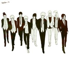 The guys from Naruto <3