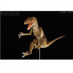 Rebor 1//18 Velociraptor Spring Heeled Jack PVC Dinosaur Museum Class Model