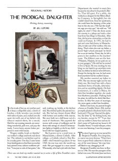 Personal essays new yorker