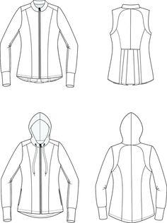 Sundance Jacket PDF Sewing Pattern in Sizes XXS to 3XL – GreenStyleCreations