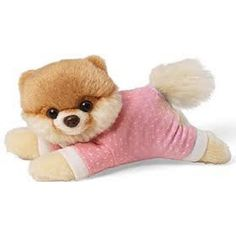 "BOO the World's Cutest Dog ""Baby Pink Pyjamas"" BOO Soft Toy Plush"