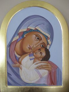 The Theotokos✖️More Pins Like This of At FOSTERGINGER @ Pinterest✖️
