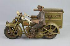 Vintage & Antique Cast Iron Toys for sale Antique Toys, Vintage Toys, Vintage Antiques, Vintage Trucks, Harley Davidson, Wings Etc, Cast Iron, It Cast, Side Car