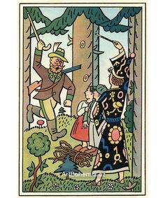 Rozzuřený hajný Bohemian Art, Joseph, The Past, Colors, Illustration, Artist, Poster, Pictures, Vintage