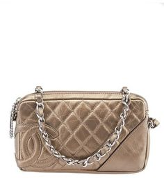 Chanel Metallic Gold Wristlet. Get the trendiest Clutch of the season! The Chanel Metallic Gold Wristlet is a top 10 member favorite on Tradesy. Save on yours before they are sold out!