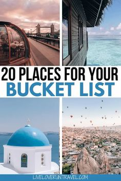 Click here for a breakdown of the top 20 travel destinations for 2020. Add these to your travel bucket list now. #beautifulplaces #bucketlist #travel   once in a lifetime destinations   bucket list destinations   bucket list travel   best places to visit   most beautiful destinations in the world   off the beaten path destinations   bucket list before I die   travel bucket list United States   Africa travel bucket list   bucket list Europe cities   bucket list Europe travel   best places to… Cool Places To Visit, Places To Travel, Travel Destinations, Travel List, Travel Guides, Usa Travel, Globe Travel, Travel Advice, Budget Travel