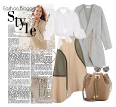 """Untitled #442"" by vasso960 ❤ liked on Polyvore featuring Vanessa Bruno, Repeat Cashmere, TIBI, Johanna Ortiz, Zimmermann, Michael Kors, Kendra Scott and Miu Miu"