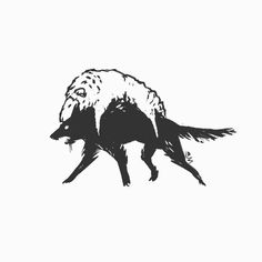 Wolf in sheep's clothing - digital sketch Dessin Old School, Mystique, Dark Art, Art Inspo, Art Reference, Cool Art, Concept Art, Art Drawings, Illustration Art