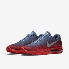 NIKE AIR MAX SEQUENT Running MENS 10.5 University Red Ocean Fog 719912 602 NEW #Nike #Running
