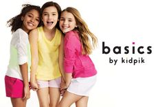 Take $15 Off of $50 Sitewide at basics by kidpik