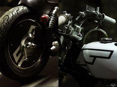 HUSZ Suzuki Savage Bobber ~ Return of the Cafe Racers