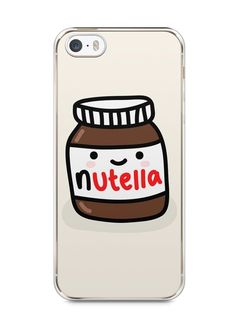 Capa Iphone 5/S Nutella #2 - SmartCases - Acessórios para celulares e tablets :)