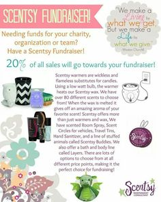 I work for such a wonderful company that I want to give back to our wonderful country. Please allow me to help you give back. Contact me today!  https://LaurenKety.Scentsy.us