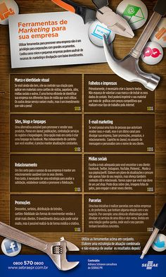 infografico-ideias-marketing-empresa Small Business Marketing, Marketing Plan, Inbound Marketing, Marketing Digital, Marketing And Advertising, Internet Marketing, Online Marketing, Social Media Marketing, Social Media Branding