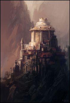 The Keep II by *andreasrocha on deviantART
