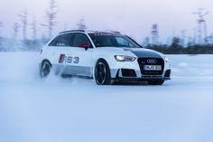 Journalisten erfahren mit Mattias Ekström am Steuer den neuen Audi RS3 Sportback Auf dem Winter-Testgelände im finnischen Ivalo erhielten ausgewählte europäische Journalisten auf Schnee und Eis einen ersten Eindruck von ... weiterlesen