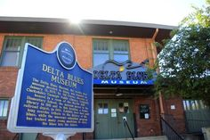 The Delta Blues Museum is located in Clarksdale, which is fitting since Clarksdale and the surrounding Delta region are known as the land where the blues began. Music Museum, Delta Blues, Old Music, Local Attractions, Back In Time, Great Stories, Music Education, Mississippi, Elementary Schools