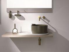 UKIYO-E Bancada de lavatório by Olympia Ceramica