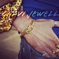 #kada#22ct gold#men#jaguar