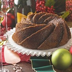 Gingerbread Bundt Cake by pictureperfectmeals