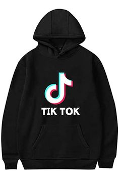 Youth T-ik Tok Hoodie and Fashion Sweatpants Suit Hip Hop Pullover Hoodies Tracksuit Sweatshirt Set for Boys Girls
