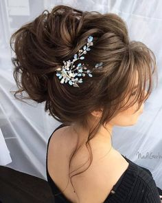 40 Stuning Long Curly Wedding Hairstyles from Nadi Gerber | Deer Pearl Flowers - Part 5