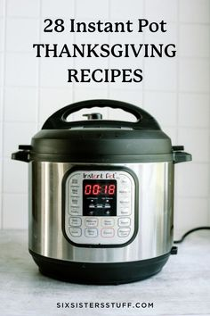 Our collection of Instant Pot Thanksgiving Recipes will make your big dinner a success. Instant Pots will save the day! Thanksgiving Side Dishes, Thanksgiving Recipes, Holiday Recipes, Holiday Foods, Homemade Naan Bread, Honey Glazed Carrots, Creamy Chicken And Rice, Bacon Ranch Potatoes, Bisque Soup