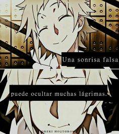 Sonrisa falsa...
