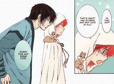 Akatsuki no Yona / Yona of the dawn anime and manga || Cute HakYona