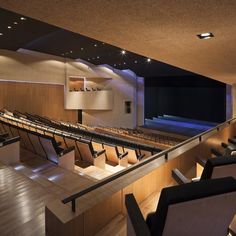 Image 12 of 32 from gallery of Almonte Theatre in Huelva / Donaire Arquitectos. Photograph by Fernando Alda Theatre Architecture, Timber Flooring, Dezeen, Old Buildings, Concert Hall, Interior Design, Gallery, Furniture, Home Decor