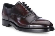 Stunning Italian Prada Cordovan Cap Toe Dress Shoes (affiliate)