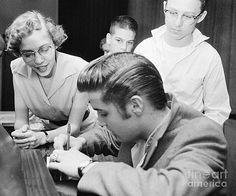 The Harrington Collection - Elvis Presley Meeting Fans 1956