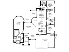 Craftsman House Plan with 2448 Square Feet and 4 Bedrooms from Dream Home Source   House Plan Code DHSW076480